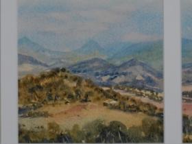 Valley Vista 2 Triptych